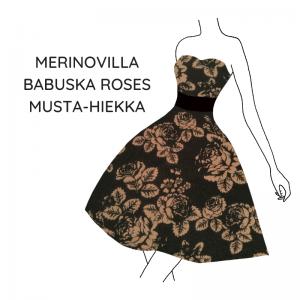merino-babushka-roses-musta-hiekka