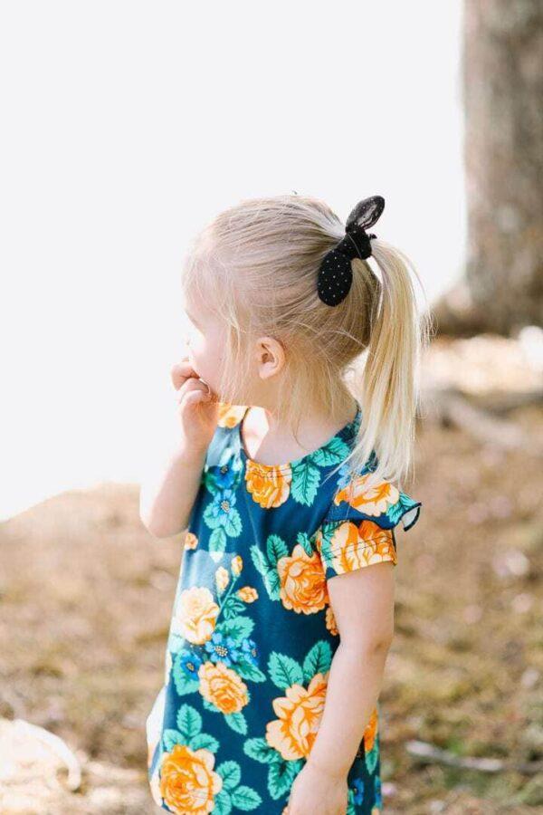lapset stella mekko mimosa legginsit babushka 1