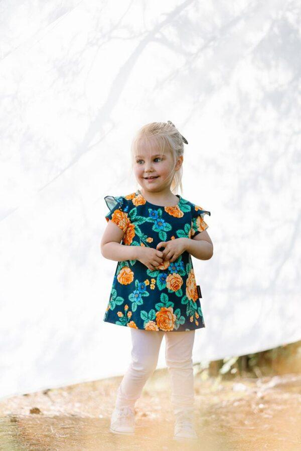lapset stella mekko mimosa legginsit babushka